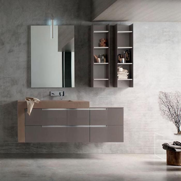 Arredamento moderno bagno - Edil Pizzuti