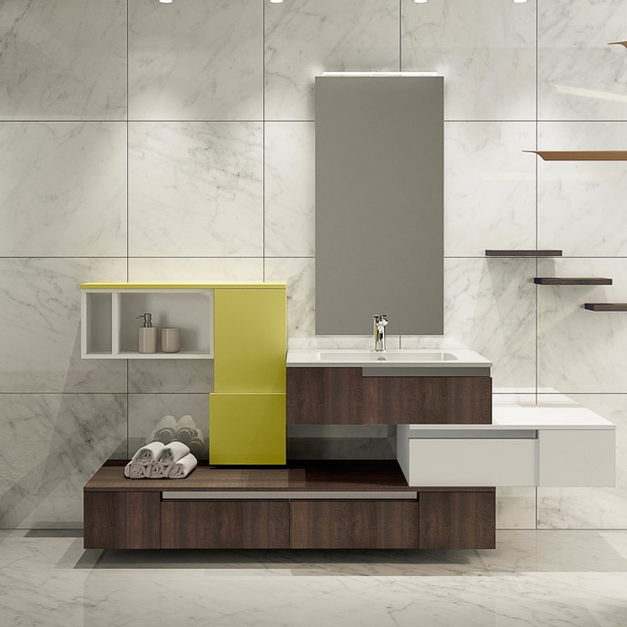 grantour bagno, l'attenzione per il design e i materiali - Arredo Bagno Gran Tour